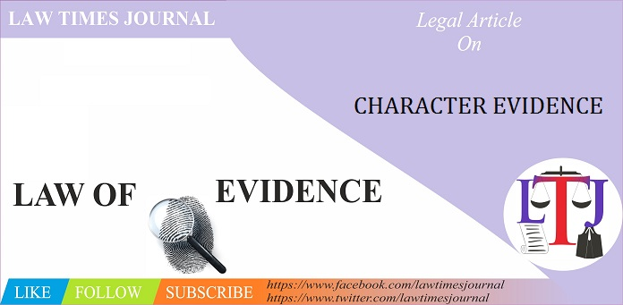 Character Evidence