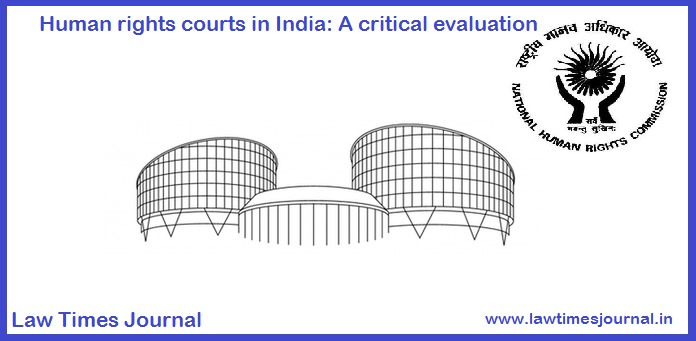 Human rights courts in India