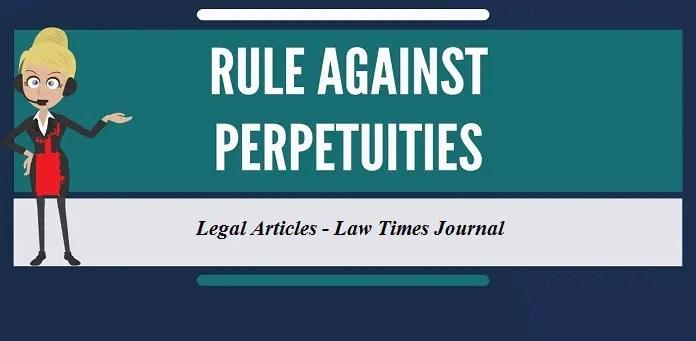 Rule against perpetuity