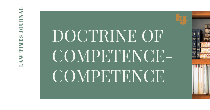 Doctrine of Competence