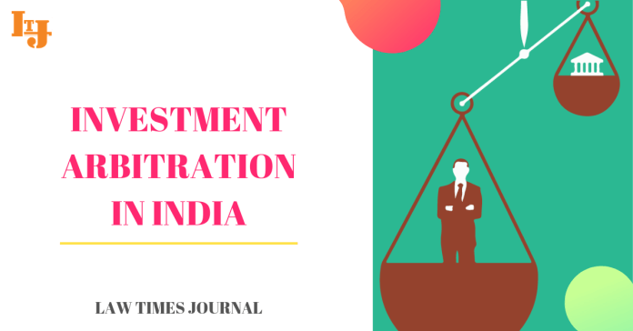 Investment arbitration