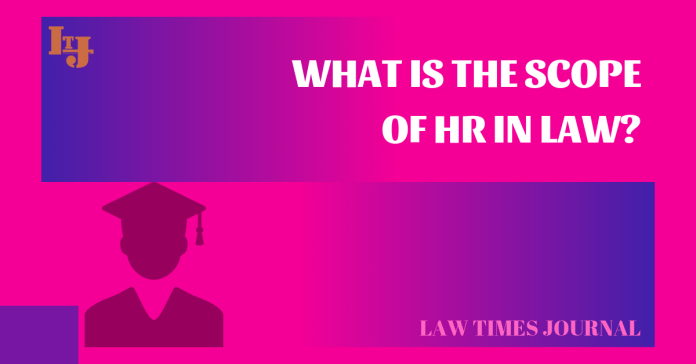 scope of Human Resource in Law