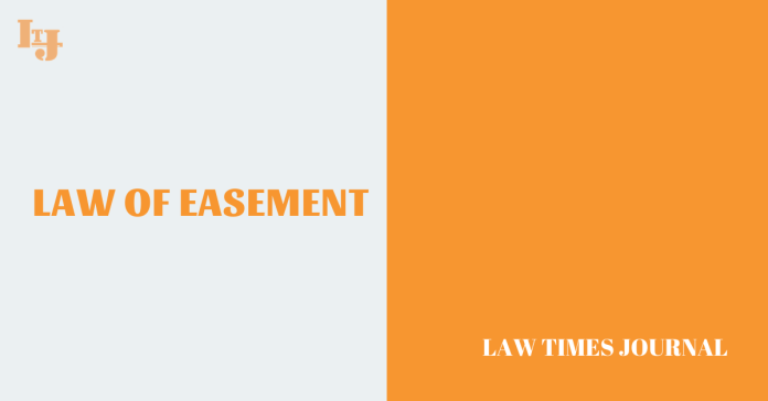 Law of Easement