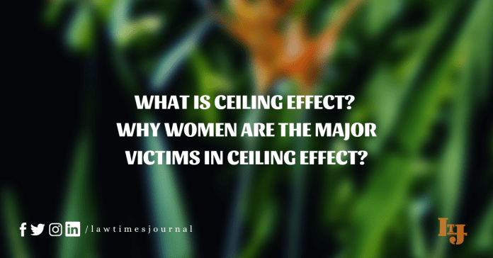 ceiling effect