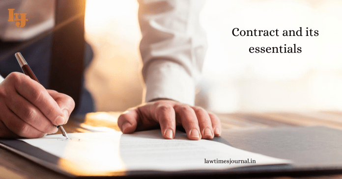 Contract and its essentials