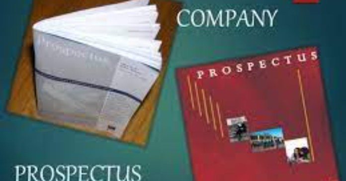 The prospectus is nothing