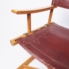 Leather Directors Chair Snap On Director S By Sune Lindstrom Lawton Mull