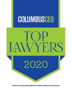 Columbus CEO Top Lawyers 2020 Award