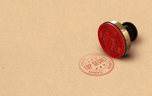 Stamp saying Top Secret