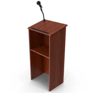A podium as while evidence and testimonies were presented, it was inadequate according to the court.
