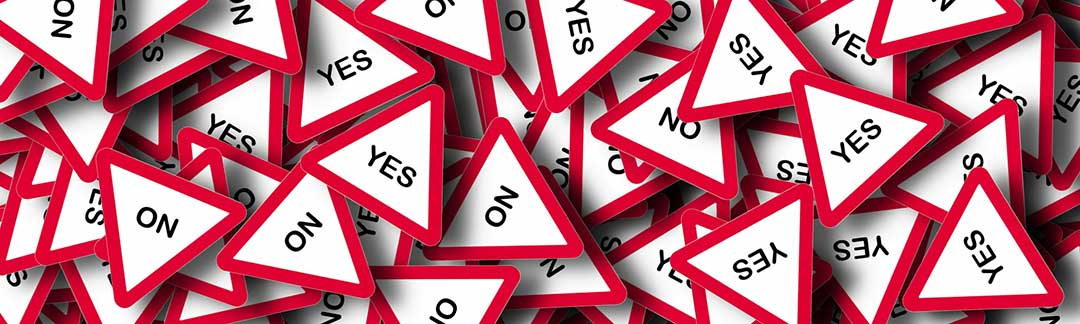Yes and no signs as there are several reasons the legal separation petition can be denied.