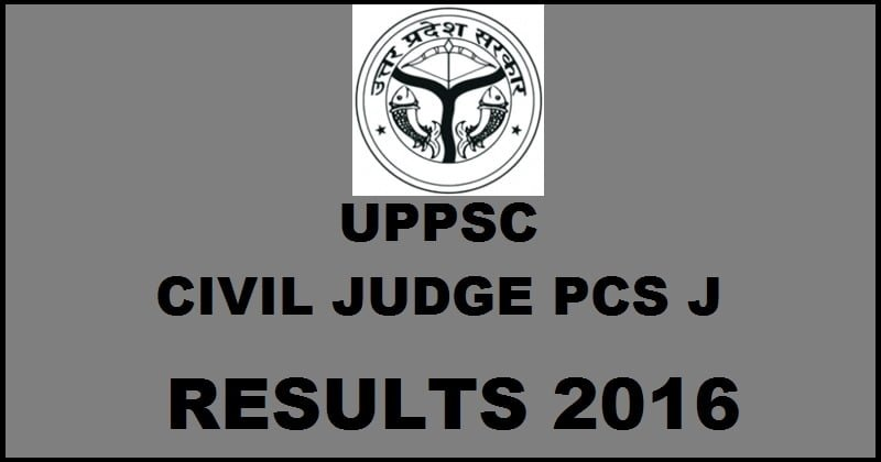 UPPCS-J 2016 Final result