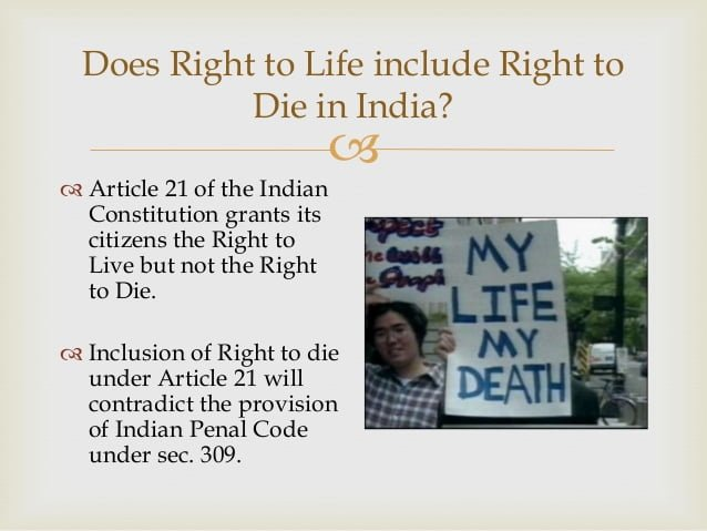 Right to Die under article 21
