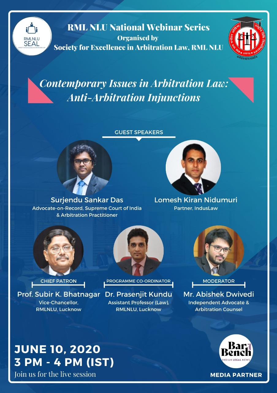 Contemporary Issues in Arbitration Law