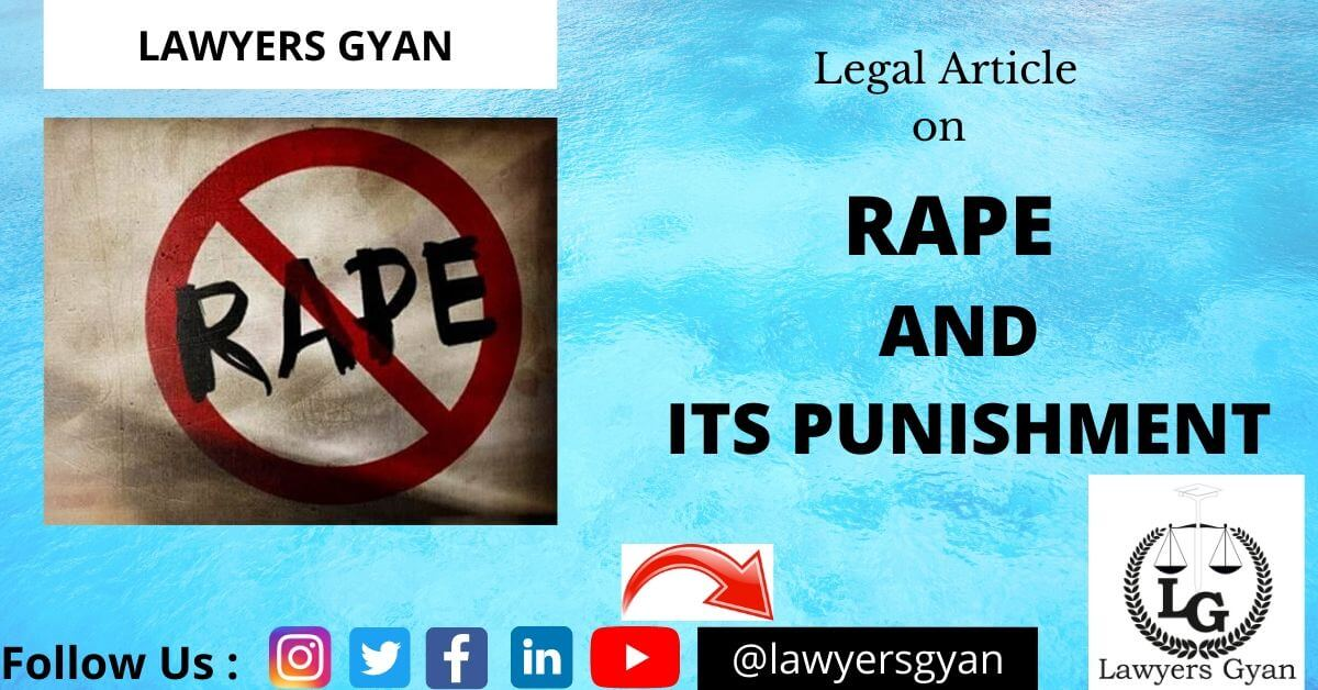 RAPE AND PUNISHMENT