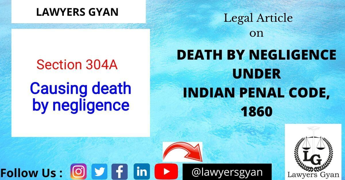 DEATH BY NEGLIGENCE
