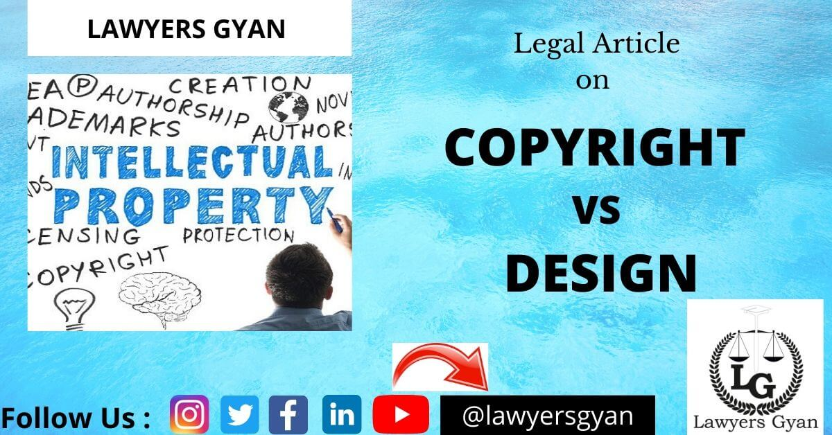 COPYRIGHT VS DESIGN