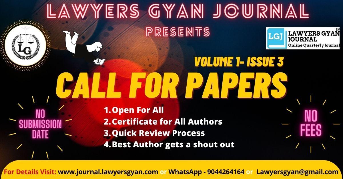 Lawyers Gyan Journal
