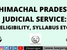 Himachal Pradesh Judicial Service
