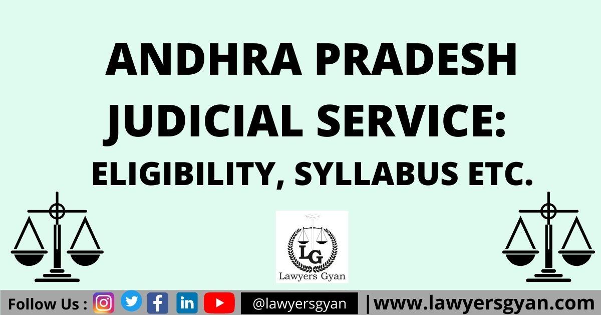 Andhra Pradesh Judicial Service