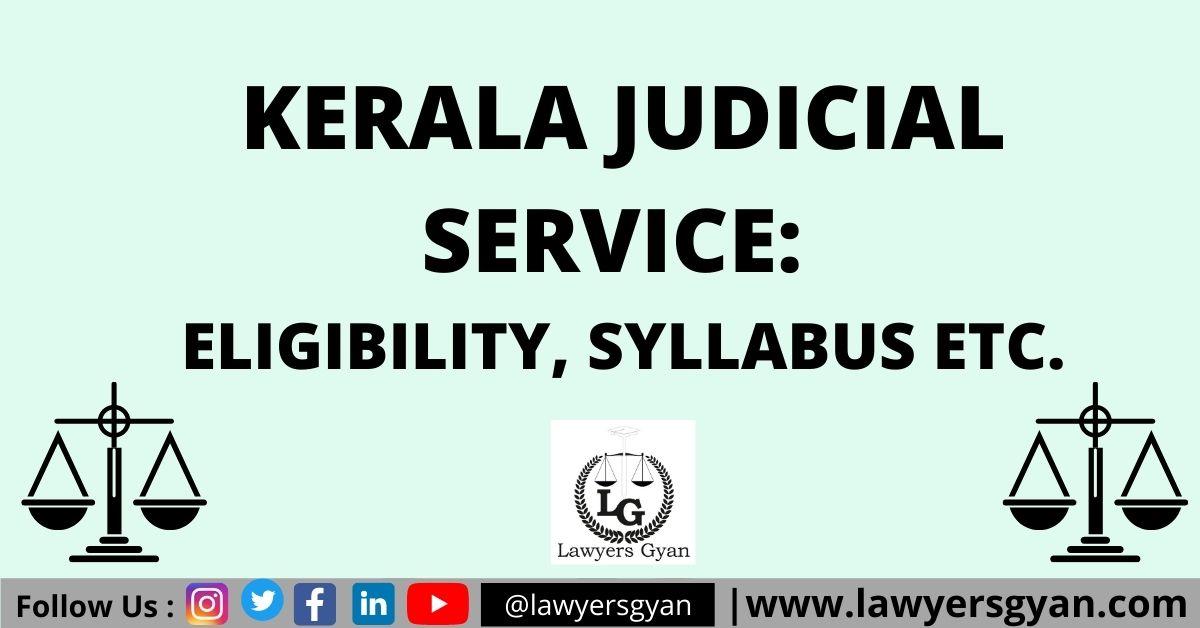 Kerala Judicial Service