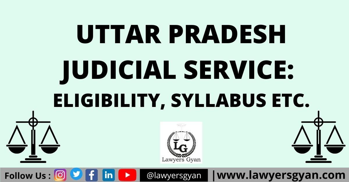 Uttar Pradesh Judicial Service