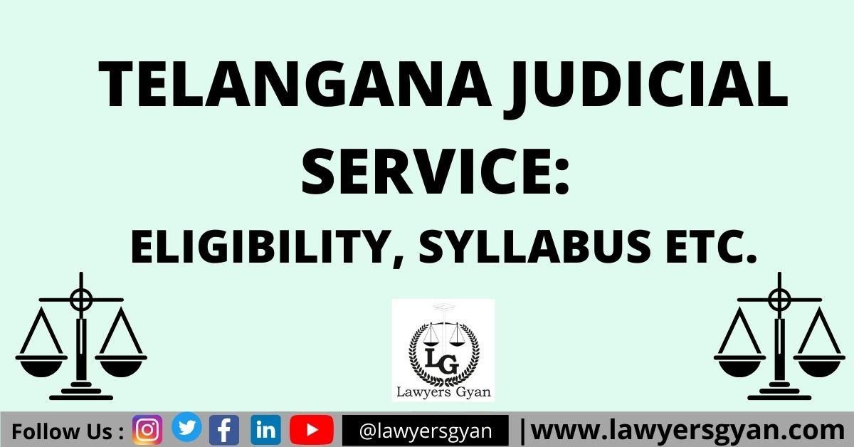 Telangana Judicial Service