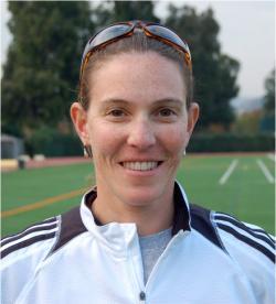 Occidental lacrosse coach Michele Uhlfelder