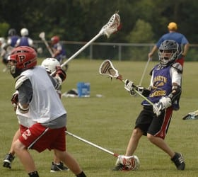 lacrosse short field practice game