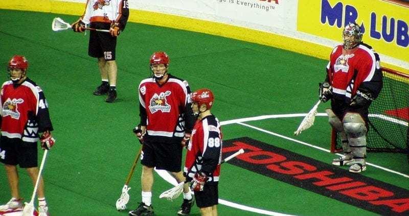 calgary roughnecks lacrosse game