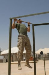 marine fitness test pull ups palms facing away