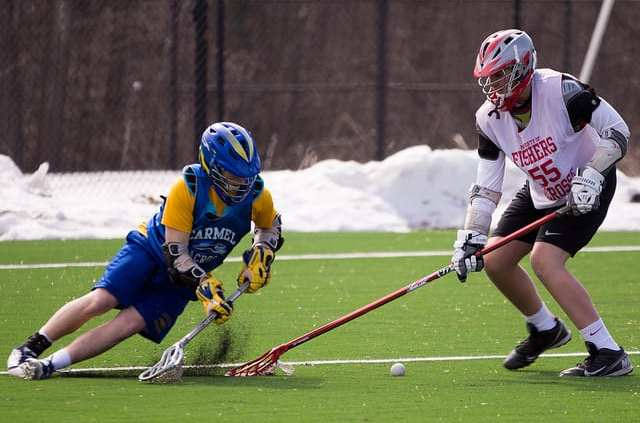 5 on 4 slow break ground ball practice drill
