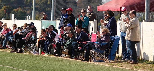 youth sports lacrosse parents sideline