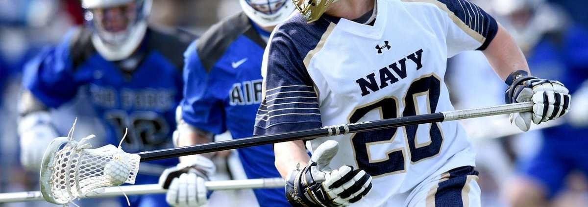 lacrosse defense heavy long pole on ball pressure