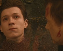 No me quiero ir Sr.Stark