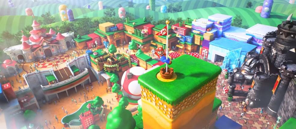 El parque temático de Mario Bros