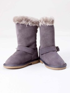 Buckled Boots Grey