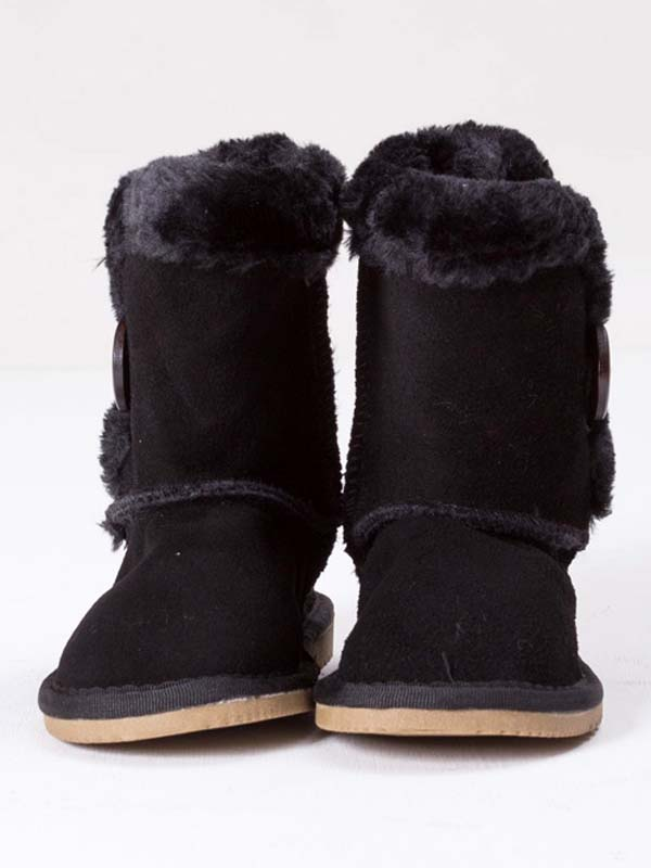 Bailey Button Boots Black