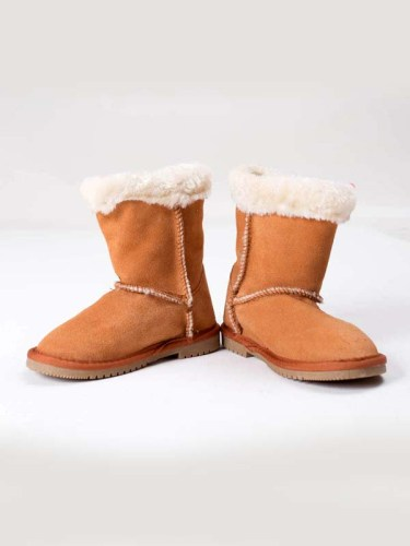 Bailey Button Boots Camel