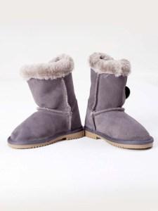 Bailey Button Boots Grey