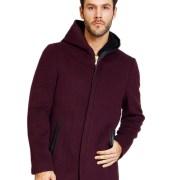 Men's Overcoat Maroon