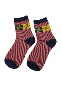 Magic Stripes Sock Pattern 007-158 (1)