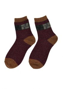Magic Stripes Sock Pattern 007-158 (2)