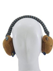 Little Bear Ear Muffs -Brown (1)