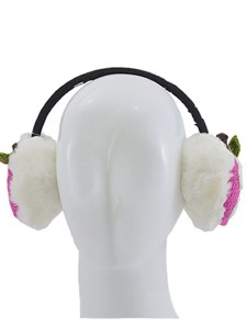 Apple story Earmuff-Pink