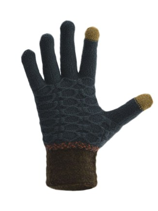 Texting Gloves Light Blue