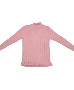 Kids Pullover Sweater Knitted Wool