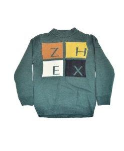Sweater Wool Thick Kids Alphabet Pattern-094K adalah Sweater Anak yang Terbuat dari Bahan Wol Berkwalitas yang membuat anak anda tetap hangat saat