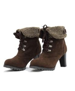 Women Heeled Ankle Boots-083E Laxmi Winter Wear menyediakan Aneka macam Sepatu musim dingin dengan berbagai model. cocok di gunakan saat berlibur ke tempat .