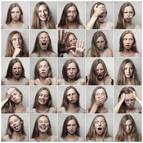 las distitntas emociones en la actuación